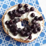 Wild Blueberry Bagel