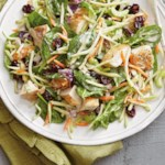 Chicken-Broccoli Salad with Buttermilk Dressing
