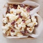 Cranberry White Chocolate Popcorn