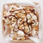 Dark Chocolate and Peanut Popcorn