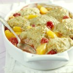 Peach-Berry Cobbler