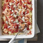 Shrimp and Cauliflower Bake