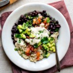 Black Bean-Quinoa Buddha Bowl