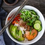 Salmon Sushi Buddha Bowl