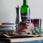 Beef Tenderloin with Cabernet-Mushroom Sauce