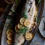 Fennel & Meyer Lemon-Stuffed Salmon