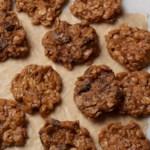 No-Bake Peanut Butter Cookies