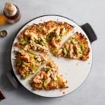 Buffalo Chicken Cauliflower Pizza