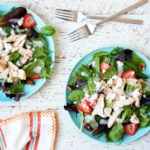 Strawberry Poppy Seed Salad with Chicken