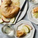 Baked Brie with Jam in Puff Pastry