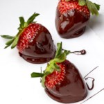 Chocolate-Covered Prosecco Strawberries