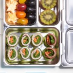 Meat & Cheese Cucumber Roll-Ups Bento Box Lunch