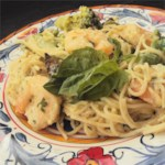 Angel Hair Pasta With Shrimp And Basil Recipe Allrecipes Com