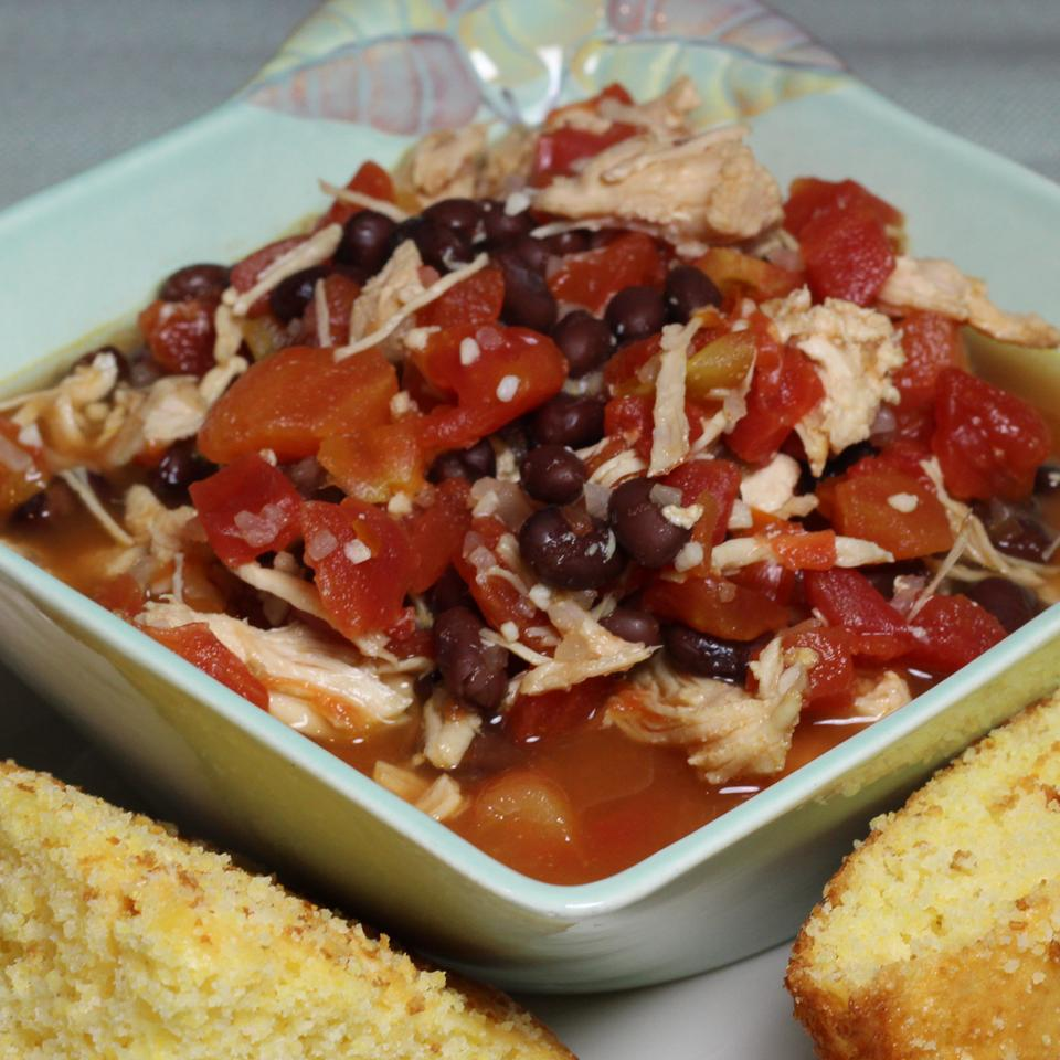 Easy Southwestern Chicken Soup VickiS