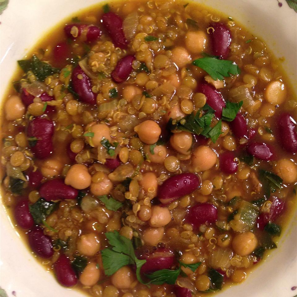 Moroccan Harira (Bean Soup)