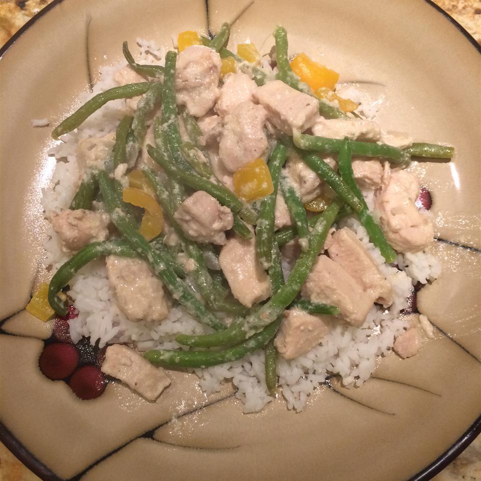 Divine Chicken with Green Beans