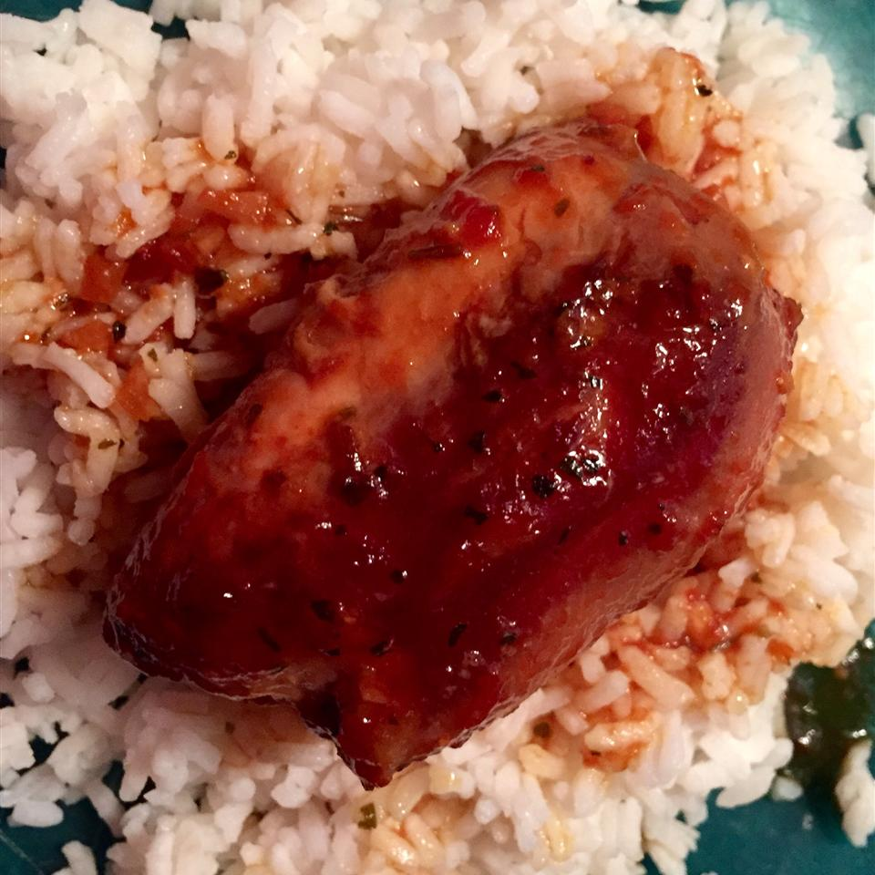 Honey-Garlic Slow Cooker Chicken Thighs Shane Krugler