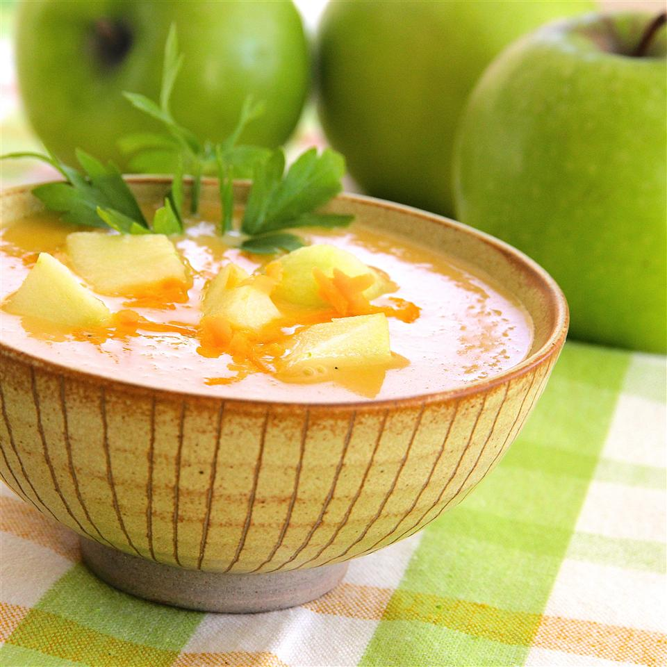 Cheddar Apple Soup lutzflcat