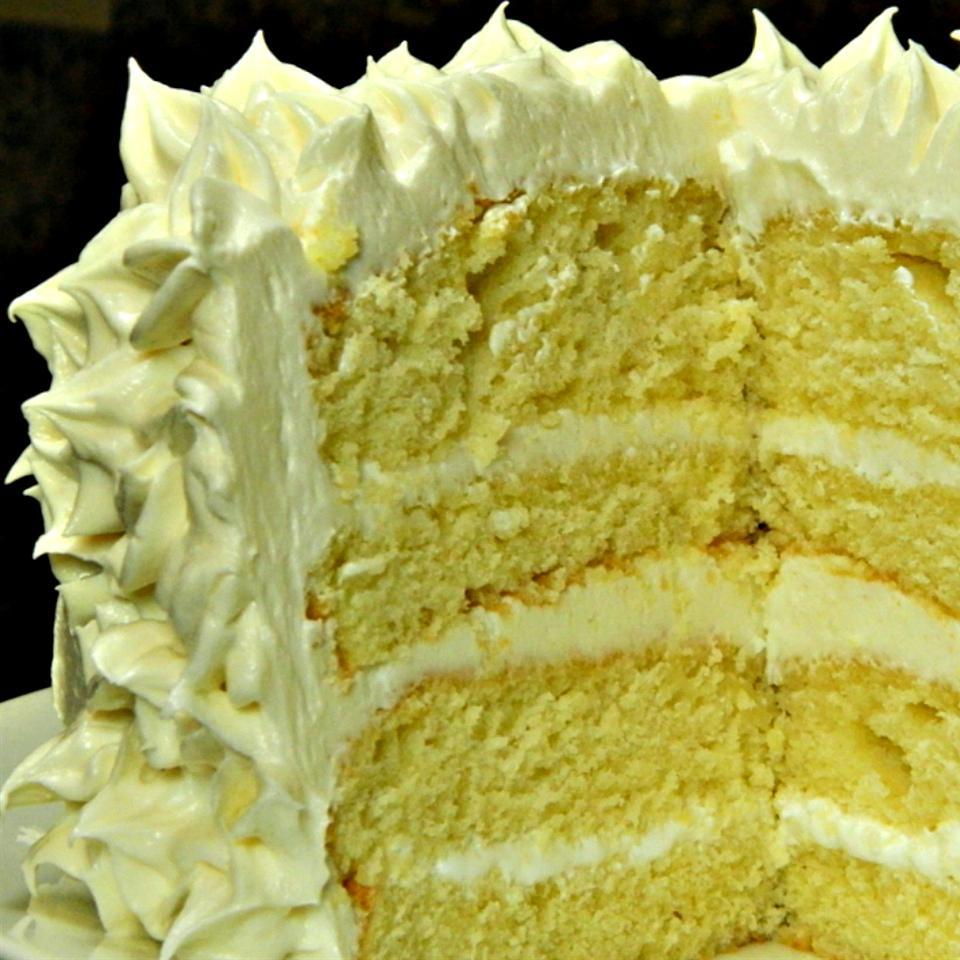 Brilliant Happy Birthday Cake Allrecipes Personalised Birthday Cards Veneteletsinfo