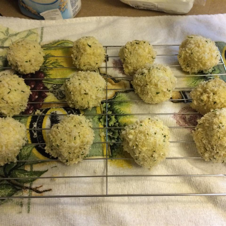 Goat Cheese Risotto Balls_image