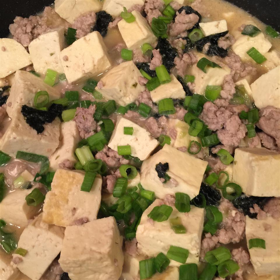 Tofu with Pork and Miso hotmesshere