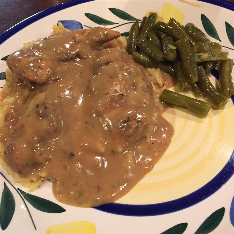 Super Easy Slow Cooker Chicken Bill