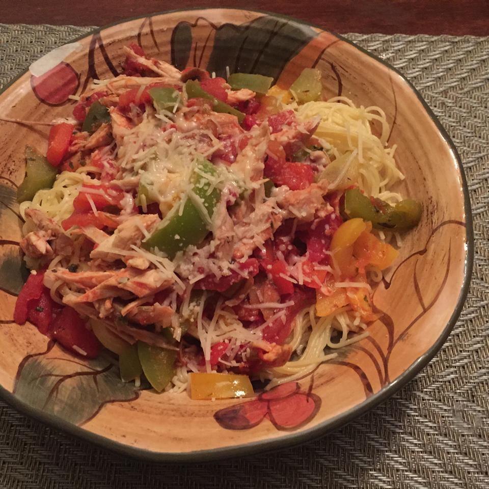 Chicken Pasta Primavera
