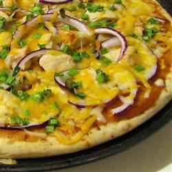 BBQ Chicken Pizza Erin