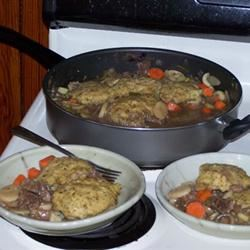 Beef Stew with Dumplings FSQUEEN