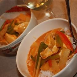Thai Pineapple Chicken Curry