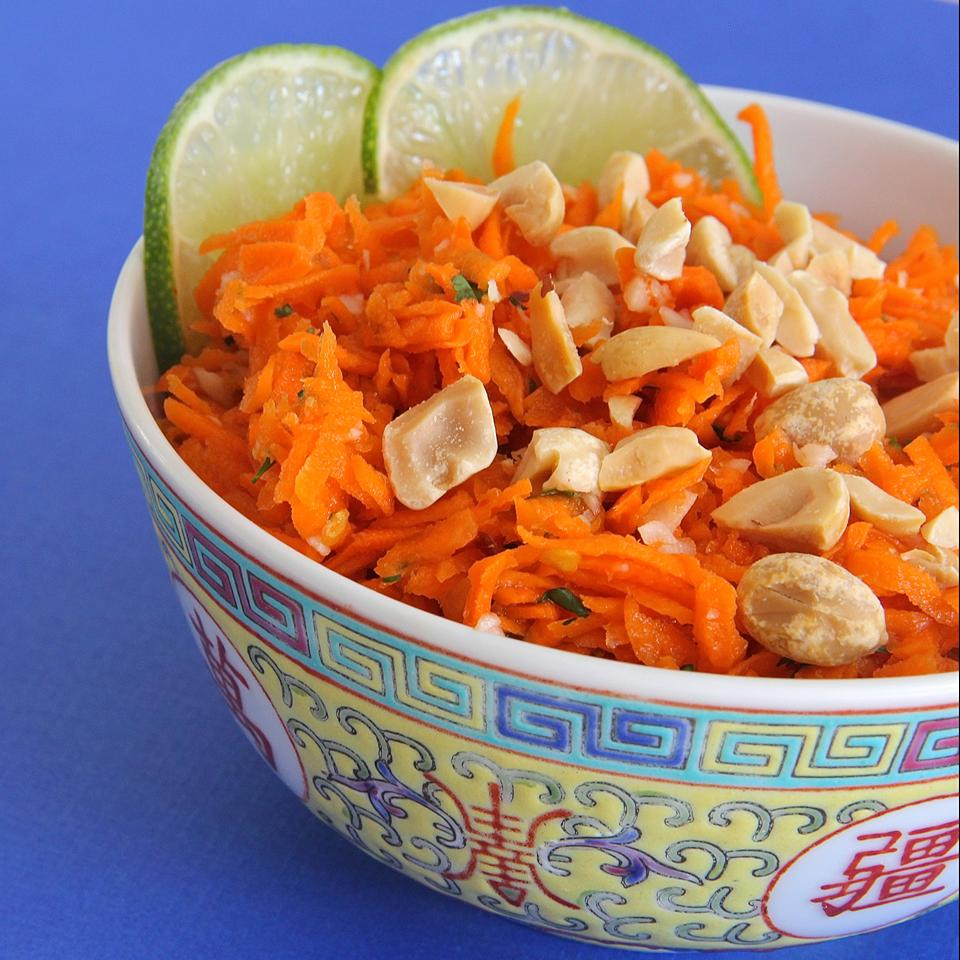 Thai Carrot Salad - Printer Friendly