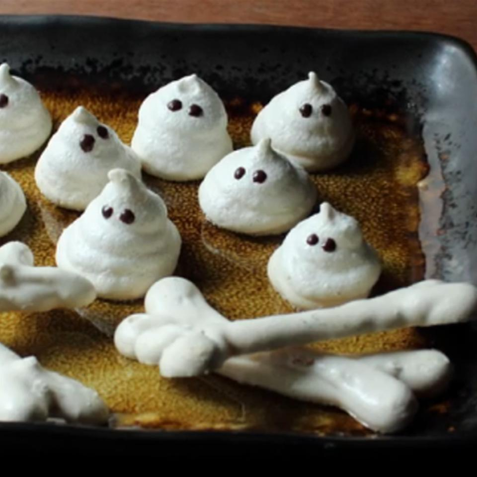 Meringue Bones and Ghosts