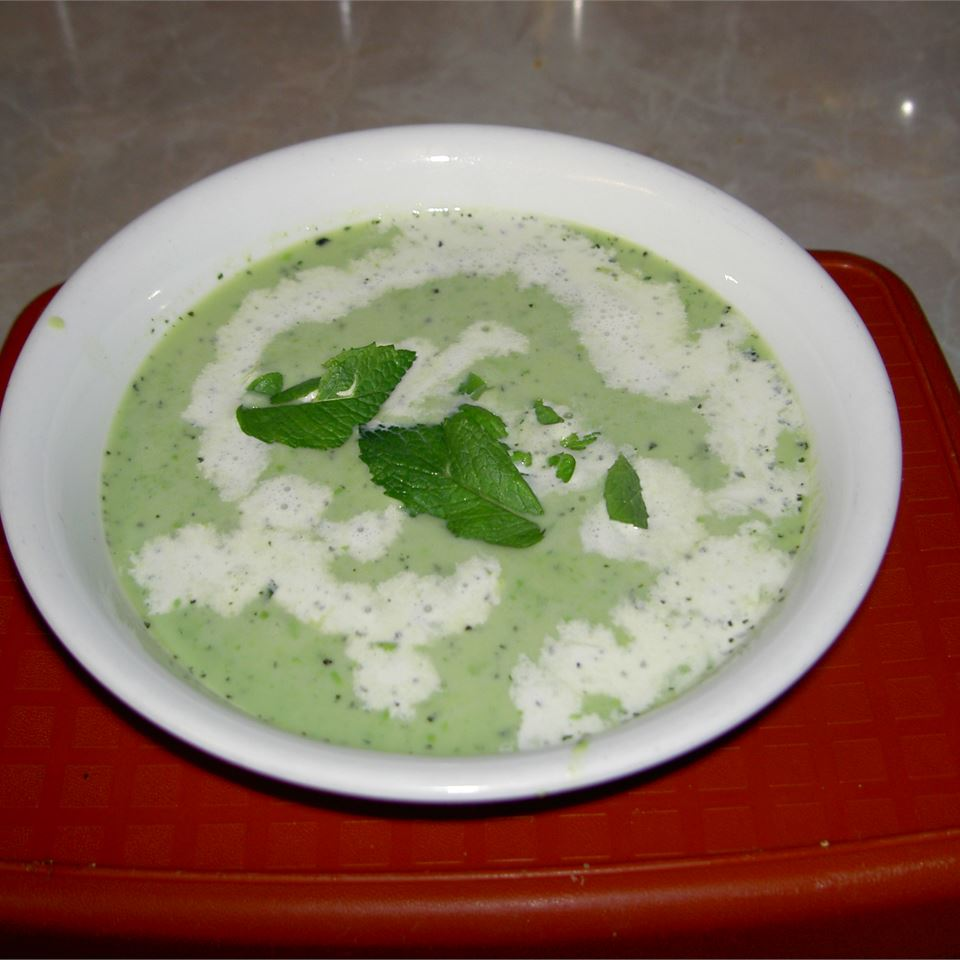 Green Pea and Mint Soup image