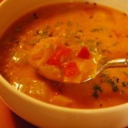 Creamy Tomato And Cream Cheese Soup