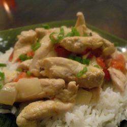 Thai Chicken Curry in Coconut Milk Kirsten