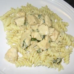 Basil Chicken and Pasta