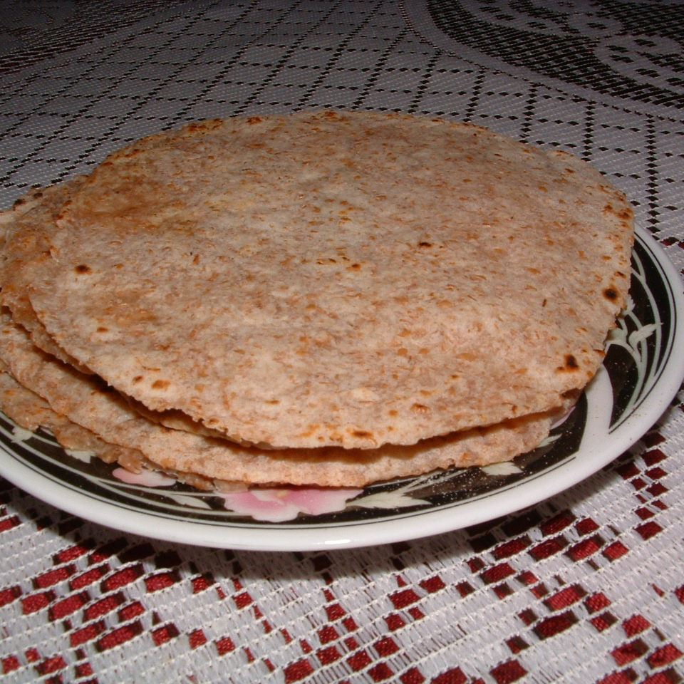 Mexican Whole Wheat Flour Tortillas - Printer Friendly