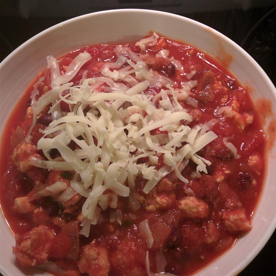 Slow Cooker Chicken and Sausage Chili Keith