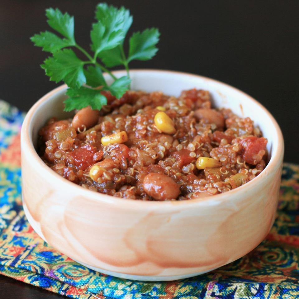 Quick Quinoa Chili