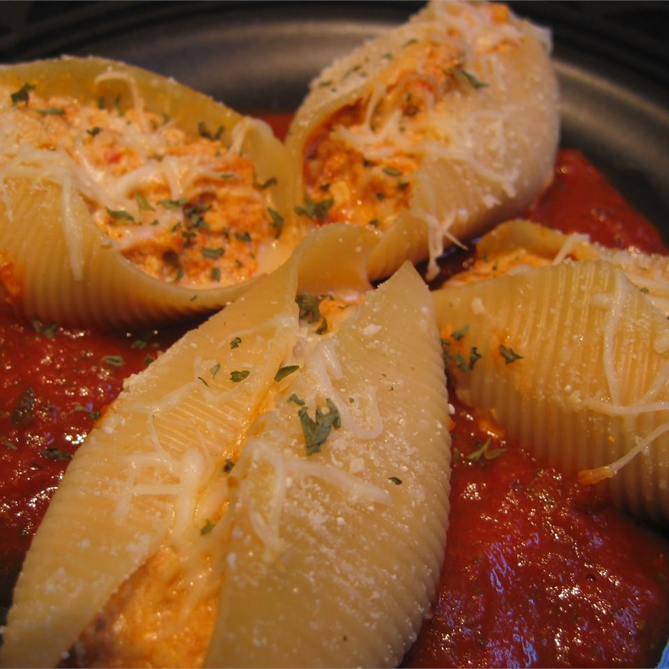Tofu and Cheese Stuffed Shells CookingForDummies
