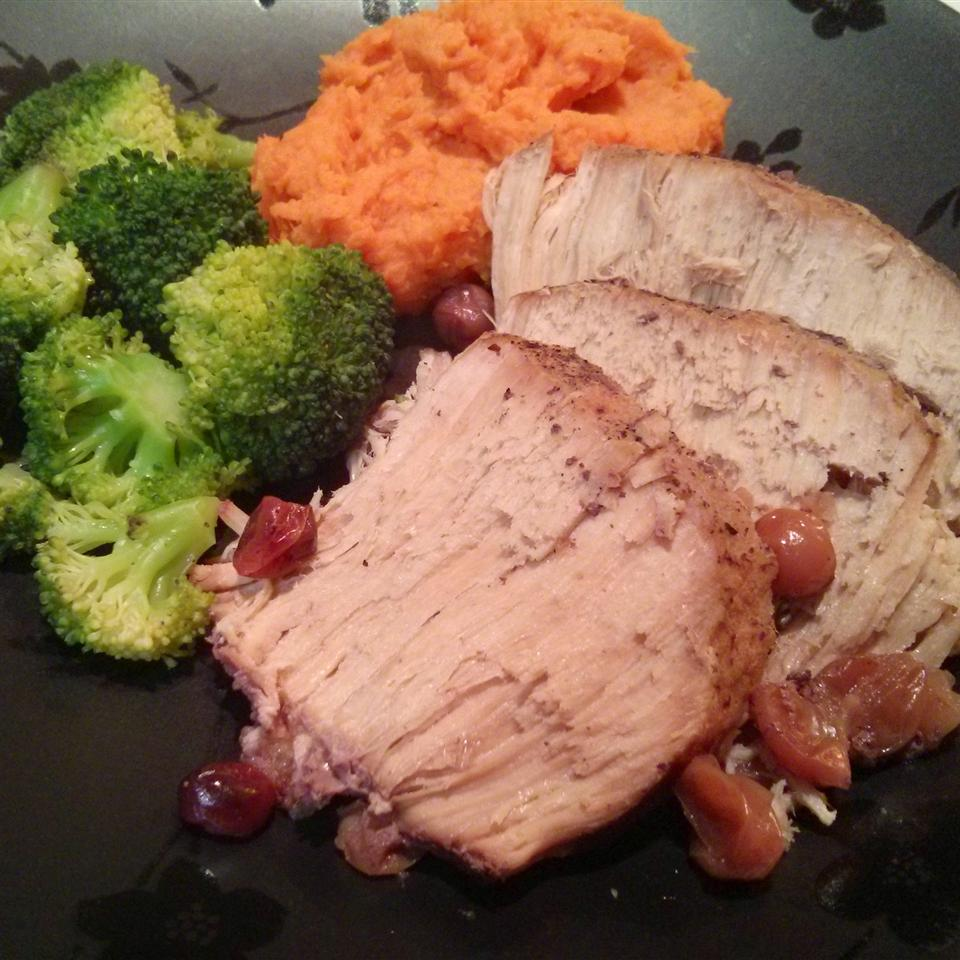 Slow Cooker Cranberry and Muscadine Pork Roast