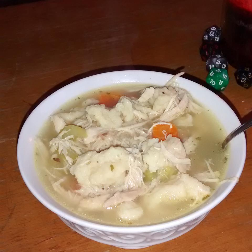 Spaetzle and Chicken Soup