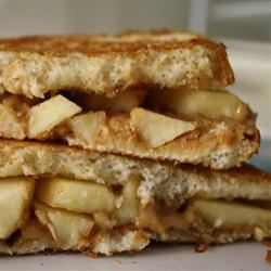 Grilled Peanut Butter Apple Sandwiches Jacob Larson