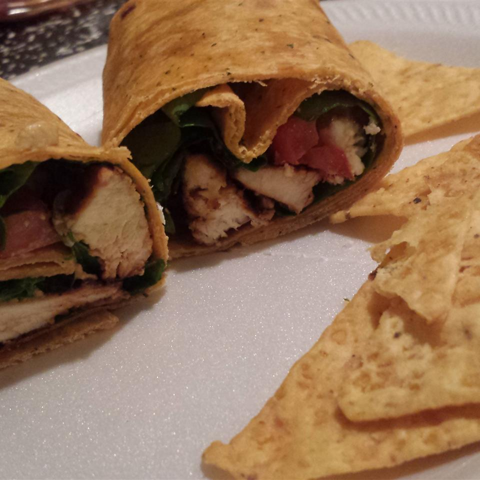 Chicken, Feta Cheese, and Sun-Dried Tomato Wraps Diana