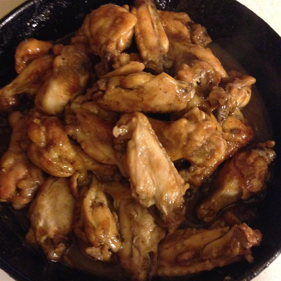 Orange Glazed Chicken Wings Ciarra
