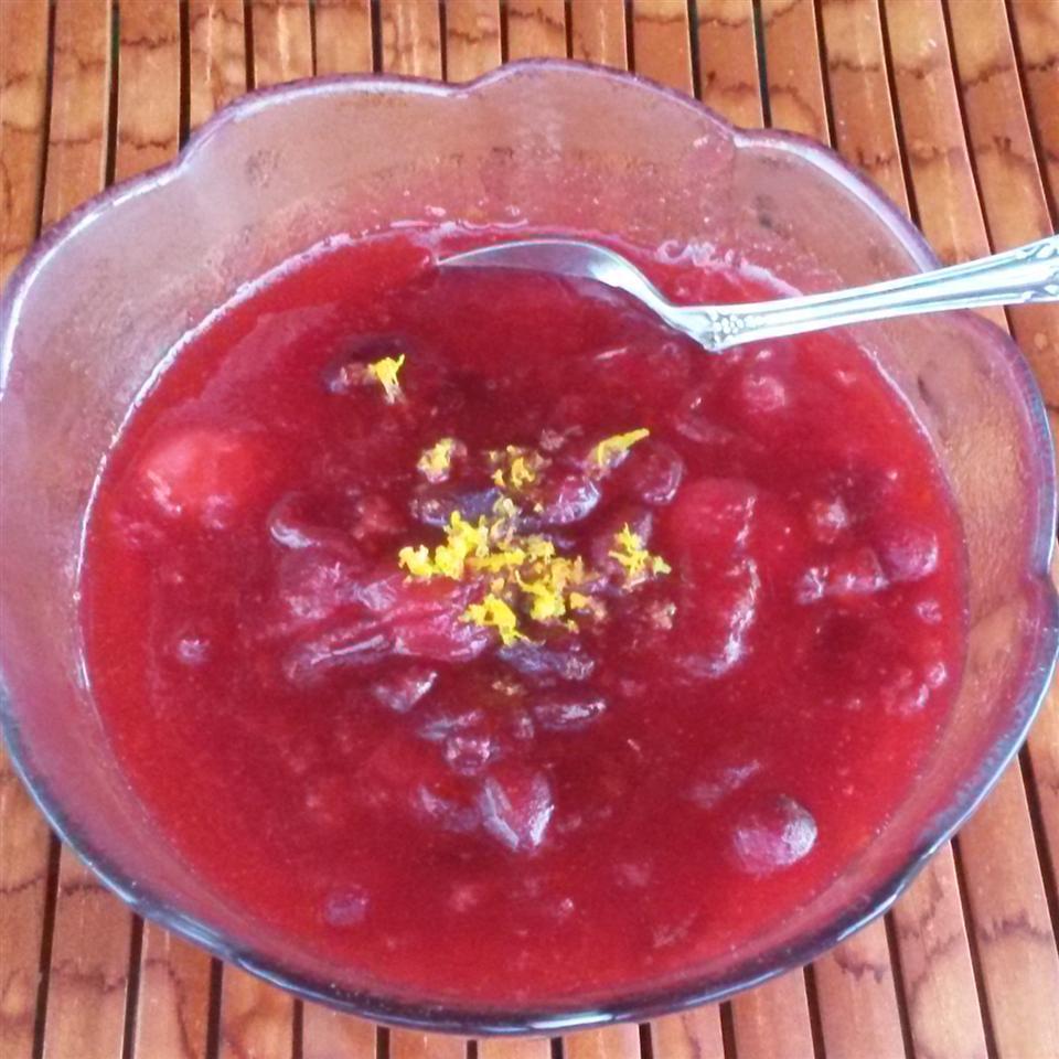 Drunken Cranberry Sauce image