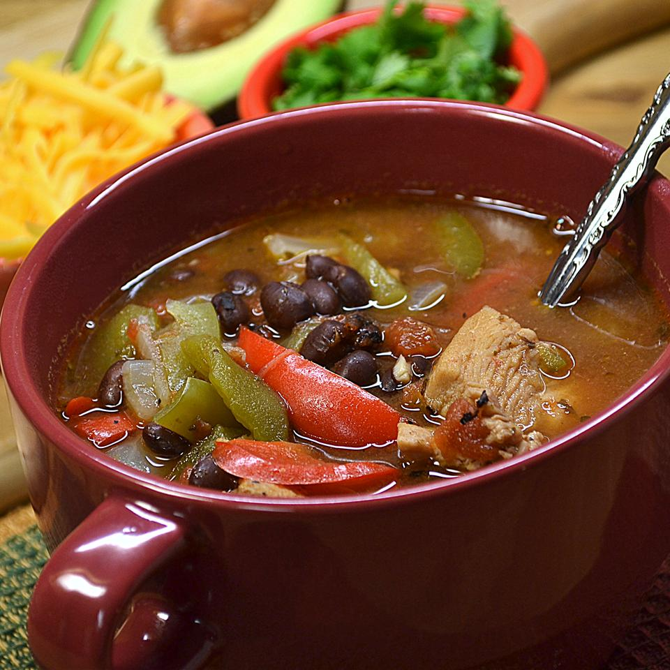 Easy Chicken Fajita Soup *Sherri*