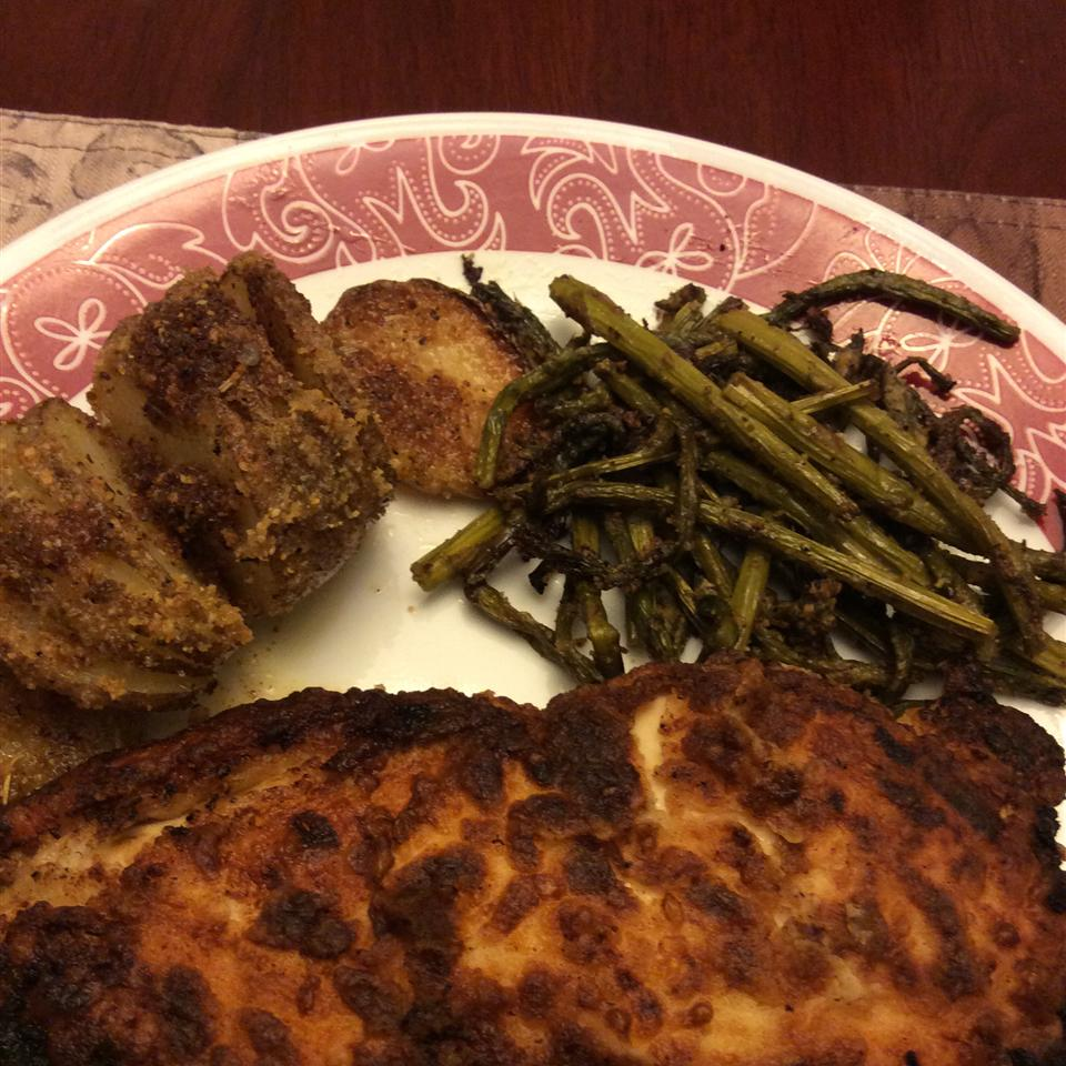 Honey-Brined Fried Chicken Breasts