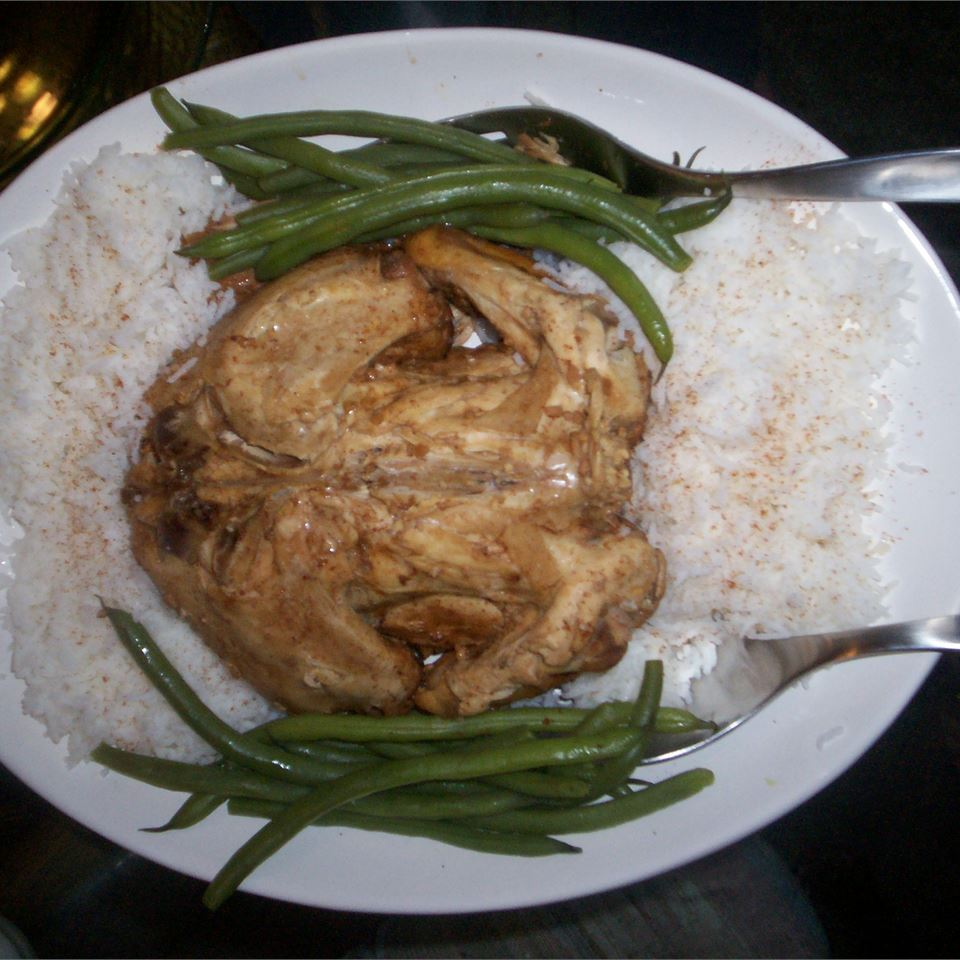 Kathy's Delicious Whole Slow Cooker Chicken Kerstin Davies