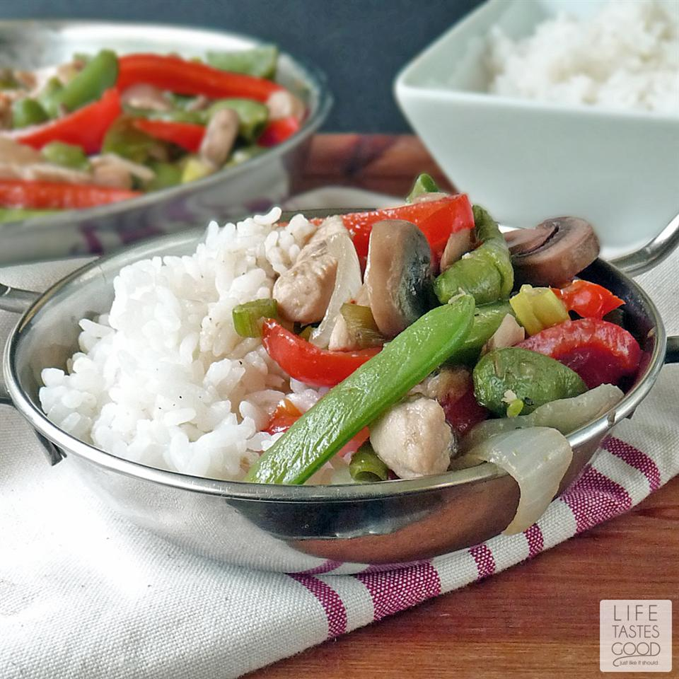 Stir-Fry Chicken and Vegetable Delight Life Tastes Good